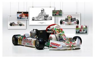 Michael Schumacher's Tony Kart.