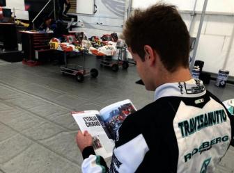 Travisanutto leaves Rosberg Racing to join HTP-Kart Team.